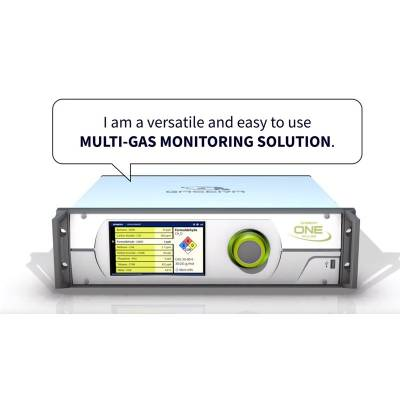 Multi-gas monitoring with gasera one pulse