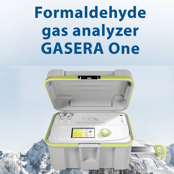 Real-time monitoring of low formaldehyde concentration in outdoor and indoor ambient air!