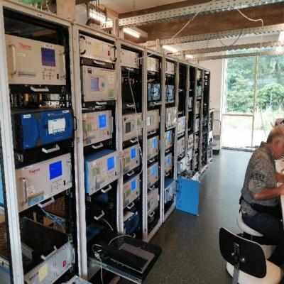 New reference lab setup